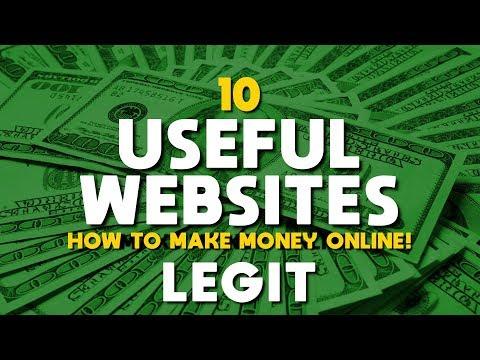 10 Useful Websites to Make Money Online! 2019