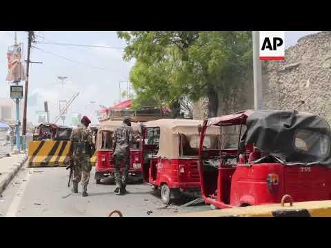 At least nine killed in bombing and gun attack in Somalia capital