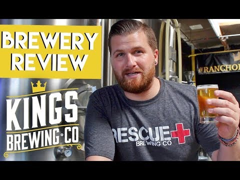Let's Have Some Beer Episode 37: Kings Brewing Co. (Rancho Cucamonga, CA)