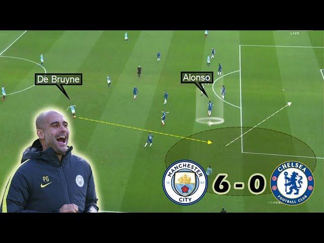 How Guardiola Destroyed Sarriball   Man City vs Chelsea 6-0   Tactical Analysis