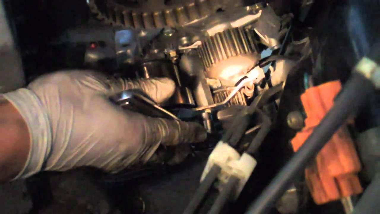 Tutorial: Change your timing belt and water pump on a 2002 Honda Accord  YouTube