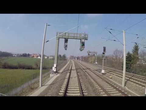 Führerstandsmitfahrt RE18 Dresden-Cottbus