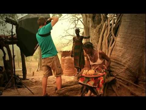 Backstage - photo session - West Africa
