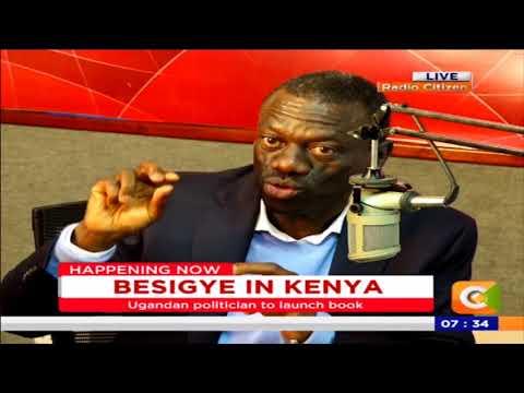 Ugandan Dr Besigye- its liberation struggle: live on Radio Citizen