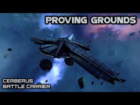 Battlestar Galactica: Cylon Cerberus Carrier - Deadlock Proving Grounds - Spacedock