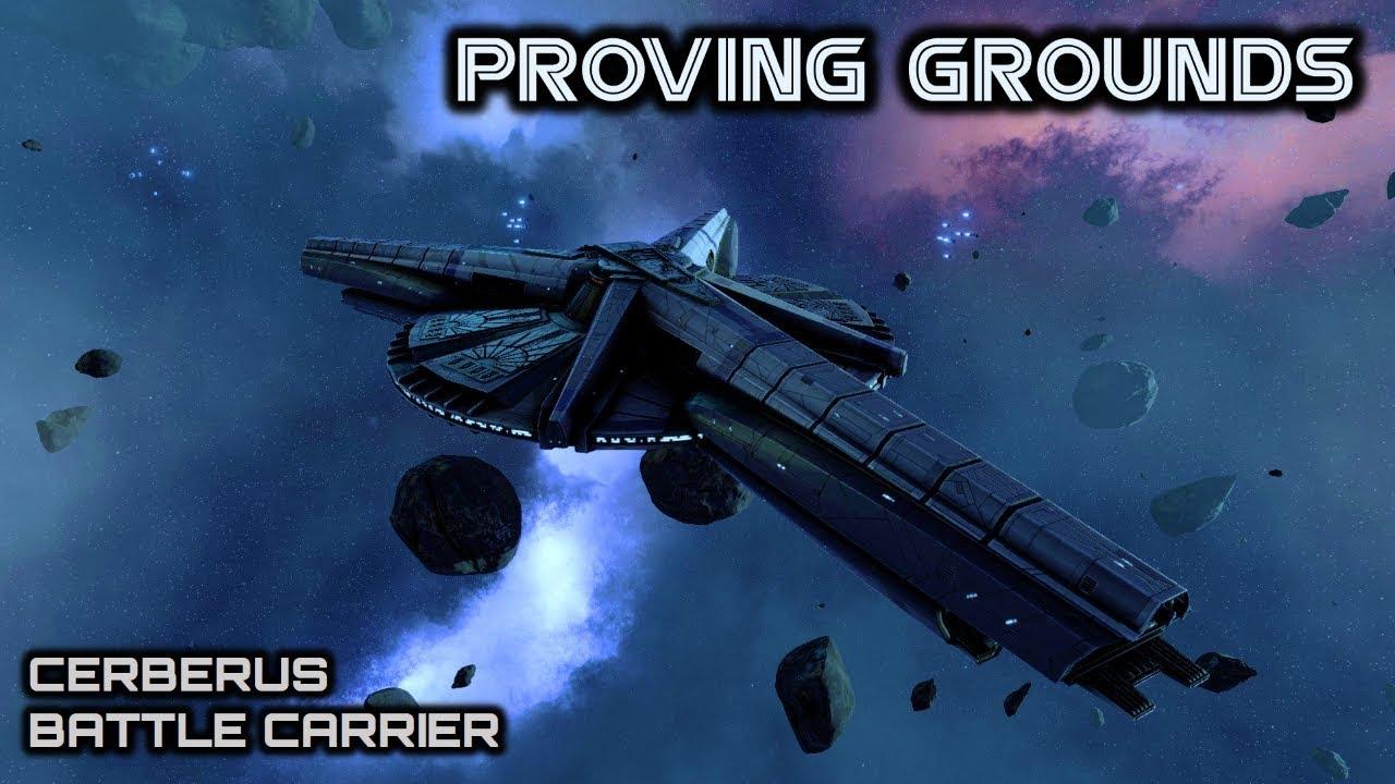 Battlestar Galactica Cylon Cerberus Carrier Deadlock