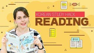 How to Improve Your Korean through Reading (Korean Study Hack)