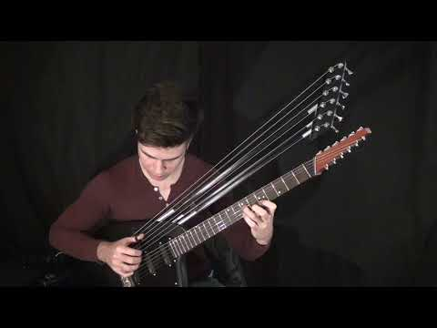 Careless Whisper - Harp Guitar Cover - Jamie Dupuis