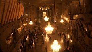 Krakow Salt Mine - And Underground Ballroom