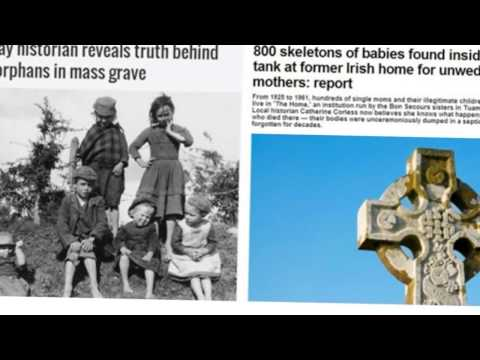 Bodies Of 800 Babies Found In Septic Tank In Ireland MUST SEE