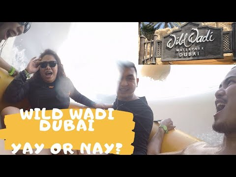 Experienced the CRAZIEST WATERPARK in Dubai │ MINNIE VILLENA