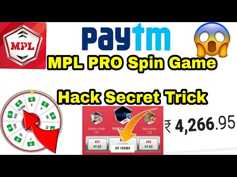 MPL Pro Unlimited Tokens Spin Paly Game Secret Trick Hack