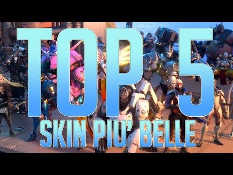 OVERWATCH - TOP 5 - SKIN PIU' BELLE