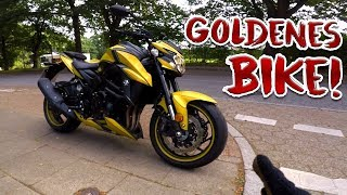 GSXS750 Probefahrt | Back to the roots