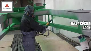 Arkote surface excellence   Powder coating process