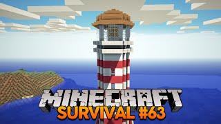 Minecraft Survival #63: Construindo o Farol!