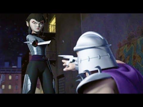Karai 2012 Met Shredder 1987 Teenage Mutant Ninja Turtles