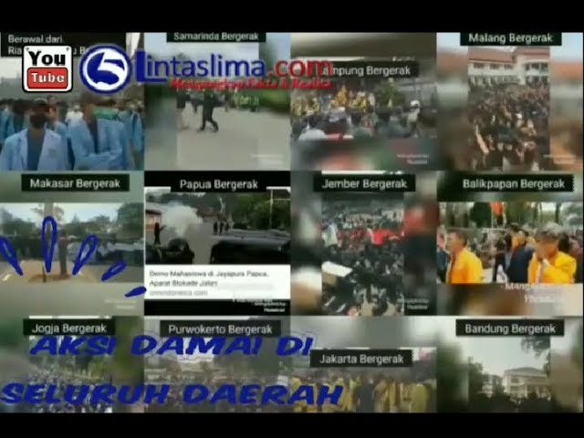 Makassar Menangis ( Di Balik Layar Aksi Damai 24/09/2019 )