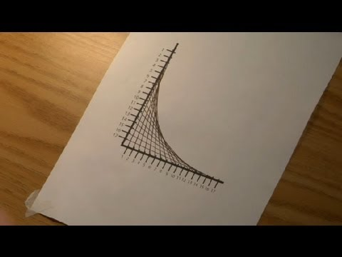 How to Make a Straight Line Look Curved : Drawings