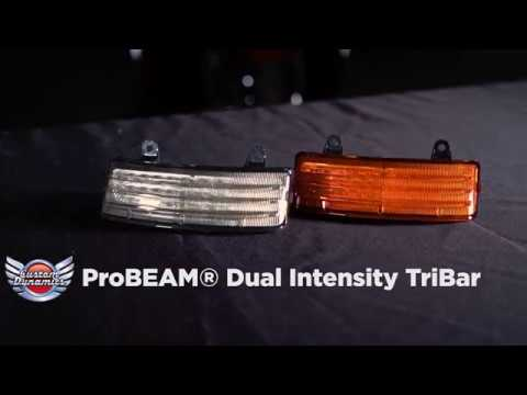 Install: ProBEAM® Dual Intensity LED TriBar for Harley-Davidson® Motorcycle