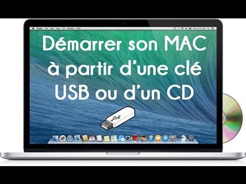 Démarrer son MAC à partir d'une clé USB ou d'un CD