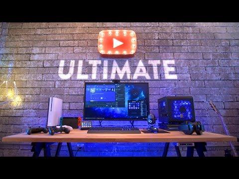 Ultimate Game Streaming Setup & Desk Tour!