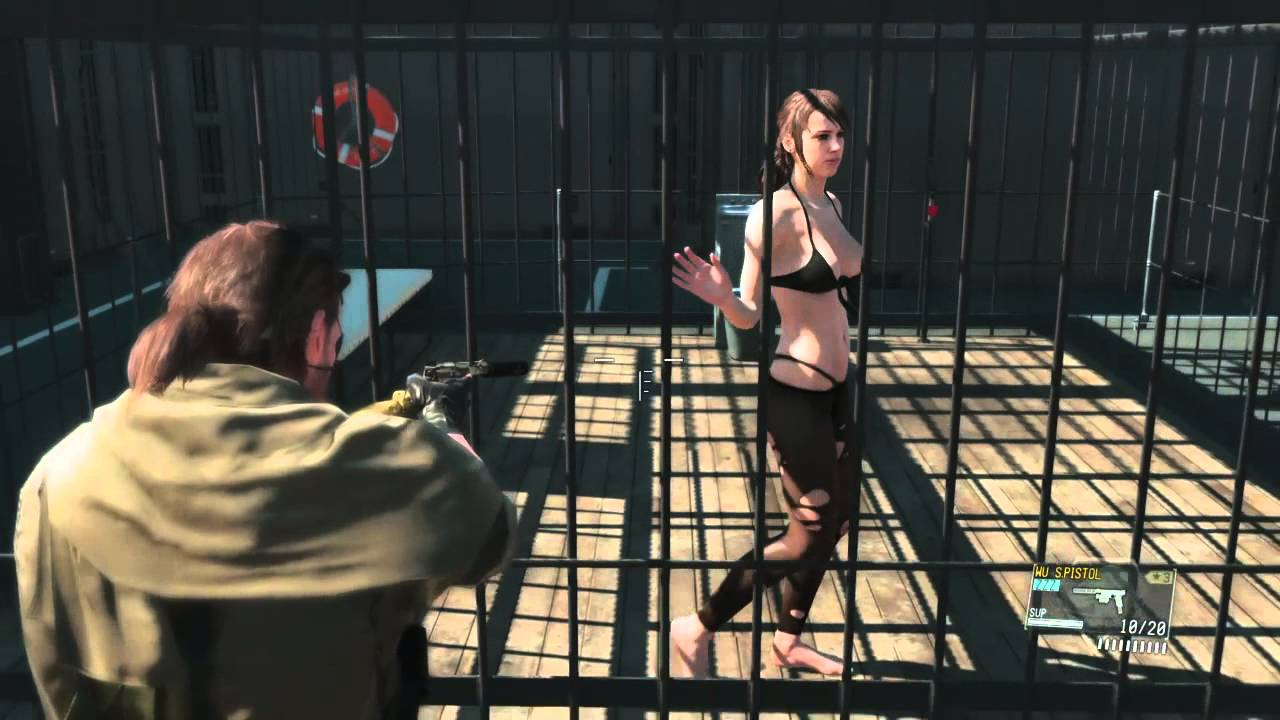 Quiet metal gear gif