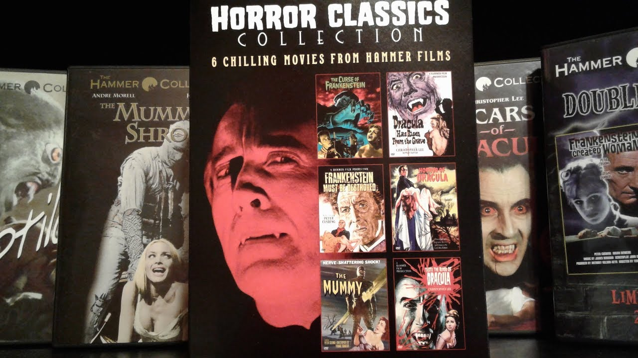 My HAMMER HORROR Movie Collection - 2017 Edition