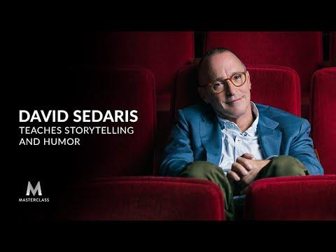 David Sedaris Teaches Storytelling & Humor His New Masterclass
