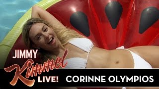Jimmy Kimmel Talks to Corinne from The Bachelor