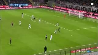 Manuel Locatelli goal vs. Juventus (Milan 1-0 Juventus) 9/22/2016