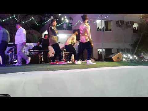 Beautiful  Indian Girl dance in Abu Dhabi New Happy year 2018