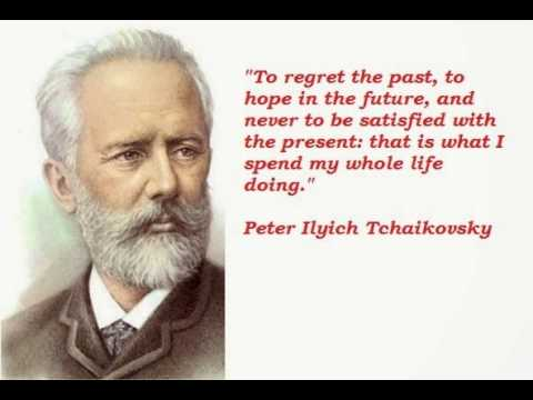 life and works of peter tchaikovsky Tchaikovsky research the most important events in tchaikovsky's life: pyotr ilyich tchaikovsky (1840-1893) contact us: works: a comprehensive.