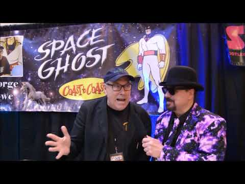 Actor George Lowe and John Anderson at Ancient City Con