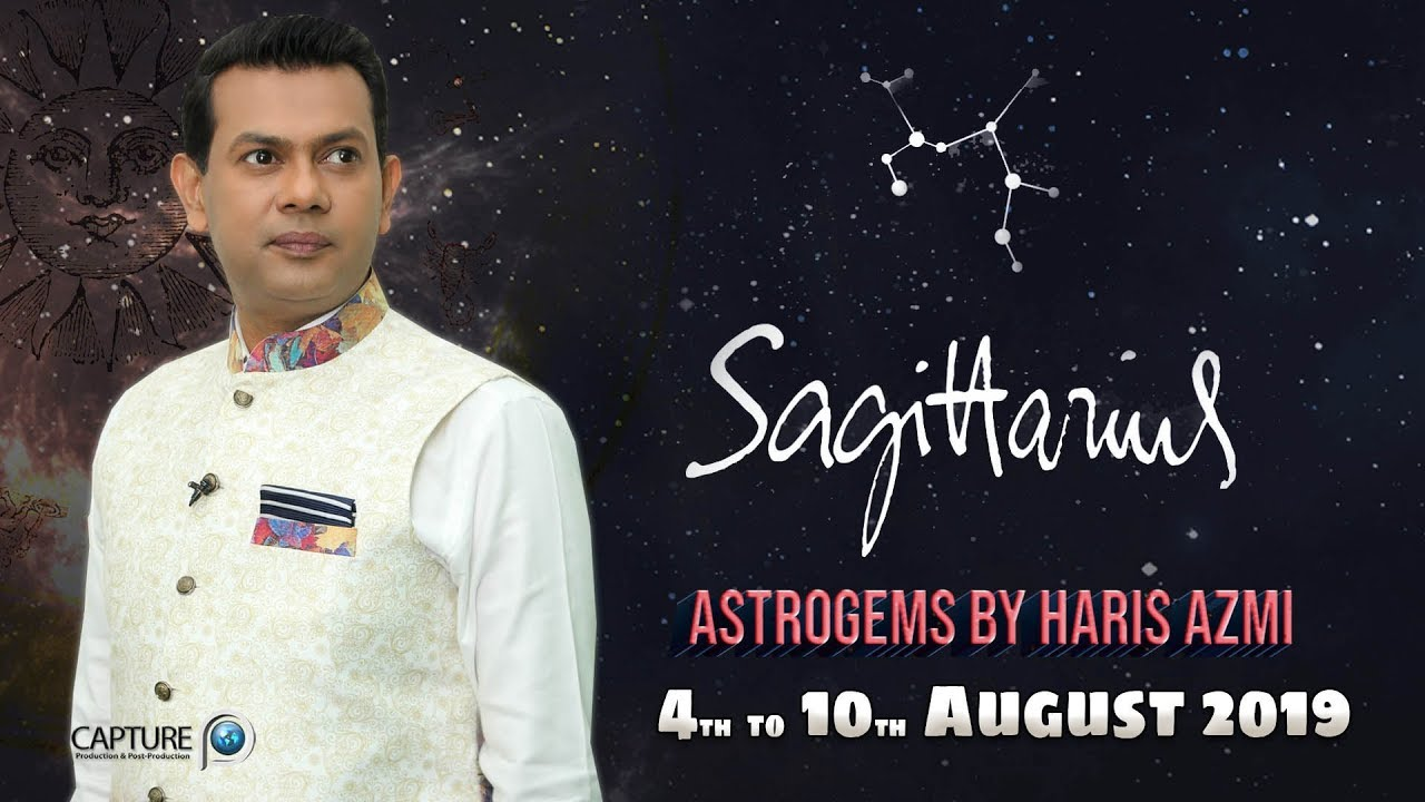 Sagittarius Weekly Horoscope from Sunday 4th August to Saturday 10th August  2019