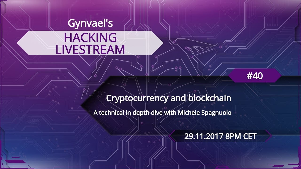 Hacking Livestream #40: Cryptocurrency and blockchain – Bcos