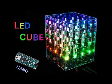 How To Make Led Cube Arduino Nano Make Multi Color Led