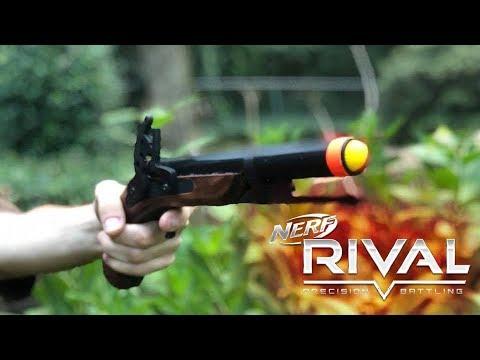 Honest Review: Nerf Rival Flintlock Pistol And Musket