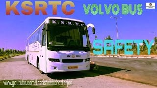 volvo bus safety video ksrtc airavat india