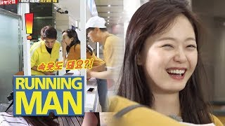 """Jeon So Min """"Can I sell underwear too?"""" [Running Man Ep 414]"""