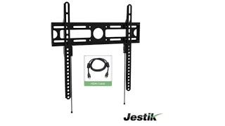 Jestik Velox Ultra-Slim Series Low-Profile Fixed TV Wall Mount Bracket