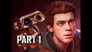 STAR WARS JEDI FALLEN ORDER Walkthrough Part 1 - FIRST 1.5 Hours!!!