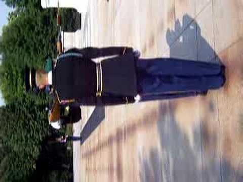 Cambio de guardia en el cementerio de Arlington - Washington