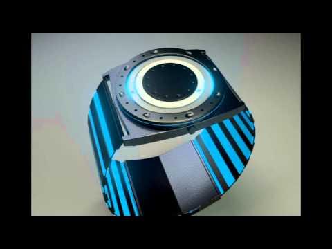 Tron Computada Reloj I Legacy Animación Model 3d Futurista J1cFKTl