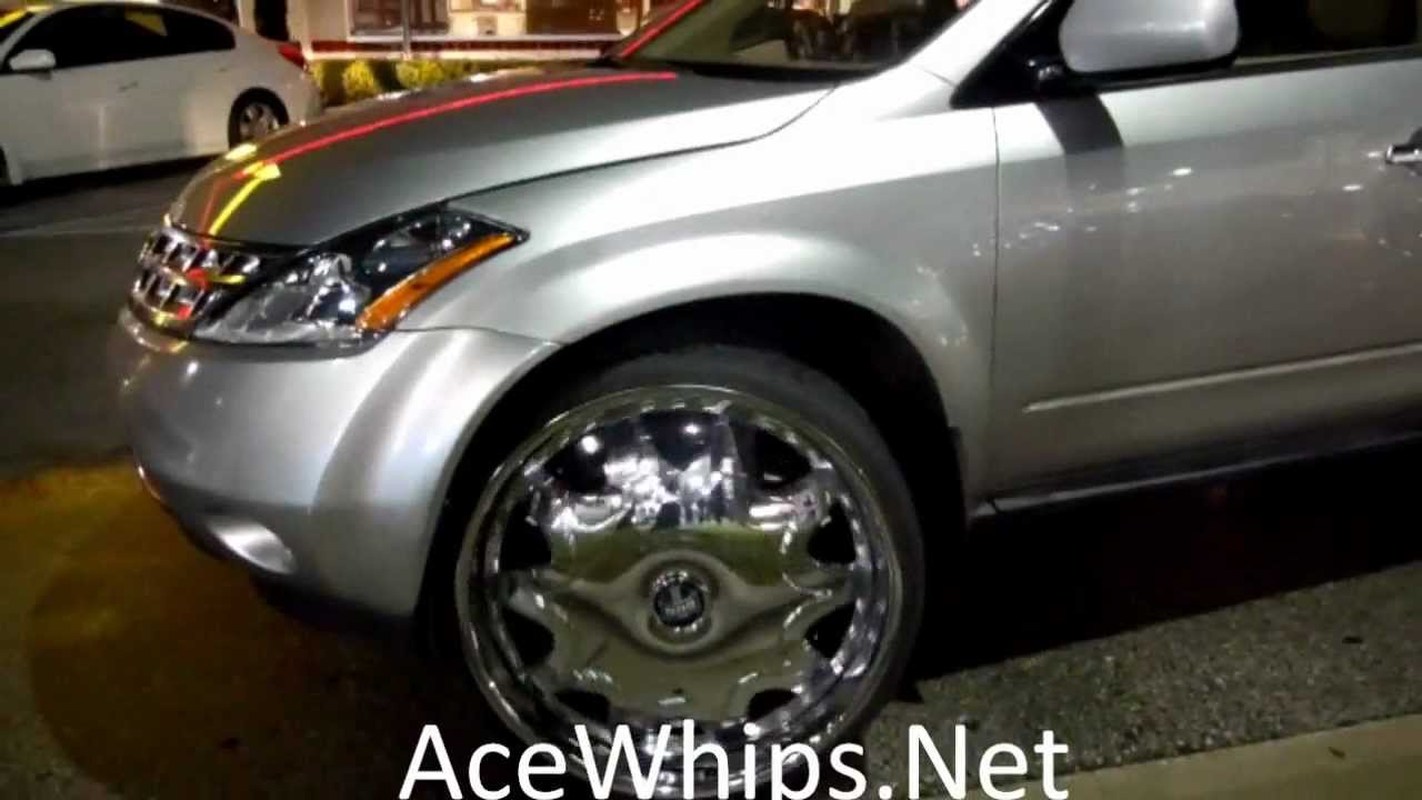 Acewhips Net Nissan Murano On 26 Quot Dub Stashola Floaters