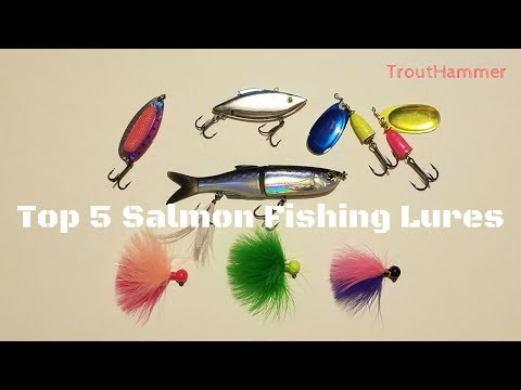 Top 5 Salmon Fishing Lures