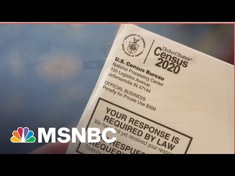 Census Lays Groundwork For Redistricting Battle in GOP-Led States | MSNBC