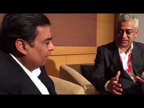 Facebook Live With Mukesh Ambani