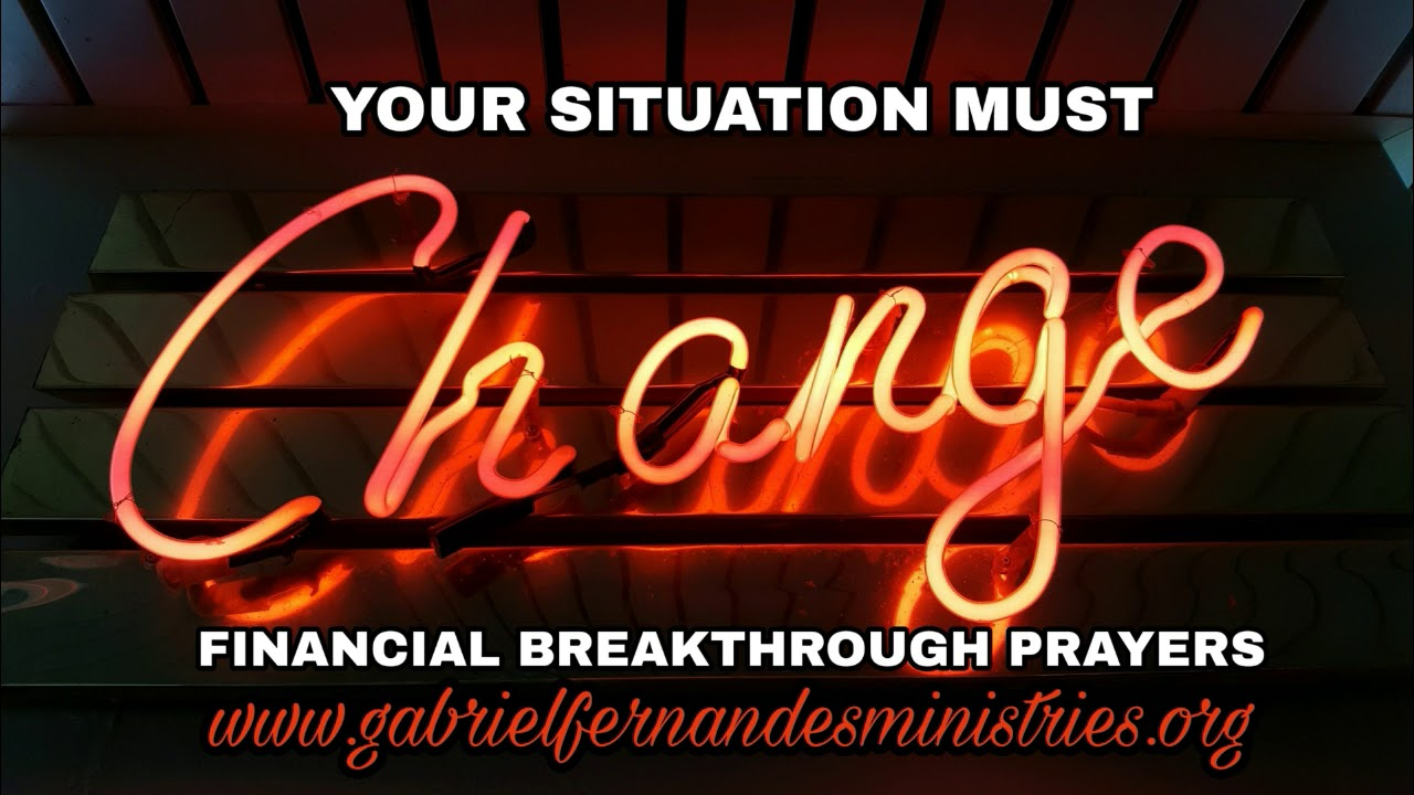 Financial Breakthrough Prayers - Receive total financial freedom