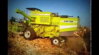 MAIZE HARVESTER IN INDIA ..KARTAR 3500...
